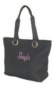 Embroidered Small Tote