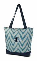 Embroidered Tie Dye Tote Bag