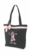 Embroidered Tote for Kids | Ballet Dance