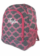 Fashionable Quatrefoil Backpack | Back to School