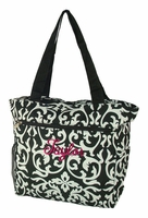 Floral Travel tote