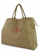 Herringbone Tote Bag | Personalized | Monogram