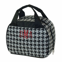 Houndstooth Lunch Tote