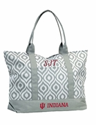Indiana University Tote Bag | Monogram | Personalized