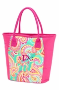 Insulated Lunch Bag - Summer Paisley