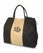 Jute Tote Bag | Monogram