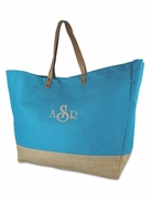 Jute Travel Bag  | Personalized