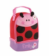 Ladybug Lunch Box for Toddler | Personalized