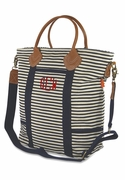 Laptop Totes | Canvas Stripe