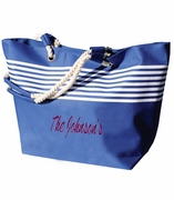 Large Beach Bags | Embroidered