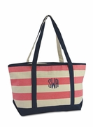Large Canvas Boat totes | Personalized