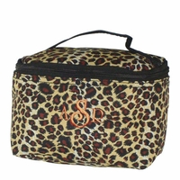 Leopard Cosmetic Case