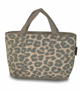 Leopard Print Lunch Bag