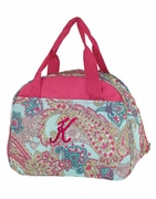 Lunch Purse Paisley Embroidered