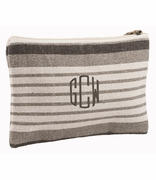 Monogram Accessory Bag | Cotton Twill