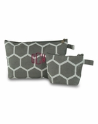 Monogram Accessory Bags - 2 piece set