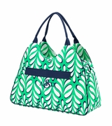 Monogram Big Beach Bag | Palm Pattern