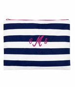 Monogram Cabana Stripe Accessory Bag
