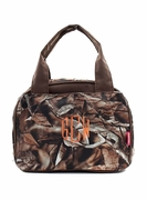 Monogram Camo Lunch Tote