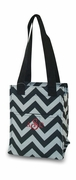 Monogram Chevron Lunch Bag