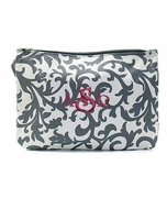 Monogram Damask Cosmetic Case