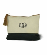 Monogram Fashion Cosmetic Bag