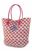 Monogram Leopard Tote Bag | Personalized