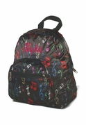 Monogram Music Note Backpack