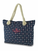 Monogram Nautical Tote Bag