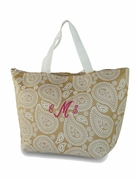 Monogram Paisley Cooler Bag