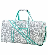 Monogram Paisley Duffle Bag - Embroidered