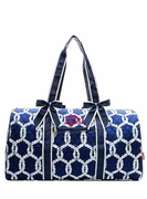 Monogram Quilted Duffel Bag - Rope Pattern