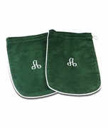 Monogram Shoe Bags - Embroidery A
