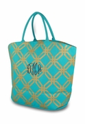 Monogram Sparkle Large Open Tote
