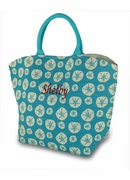 Monogram Summer Tote Bag - Seashells - Star Fish
