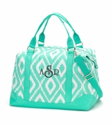 Monogrammed Weekend Bag - Ikat