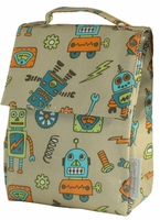 Monster and Robot Lunch Bags