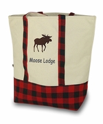 Mountain Boat Tote