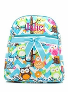 Owl Backpack-Monogrammed