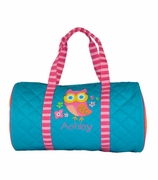 Owl Duffle Bag | Personalized | Monogram