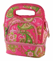 Paisley Insulated Lunch Tote