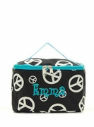 Peace Sign Cosmetic Bag - Personalized