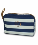 Personalized Accessory Bag - Cabana Stripe