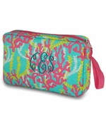 Personalized Accessory Bag - Coral Reef