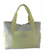 Personalized Canvas Diaper Bags | Embroidered