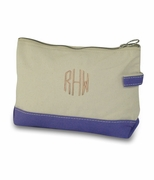 Personalized Canvas Make Up Bag