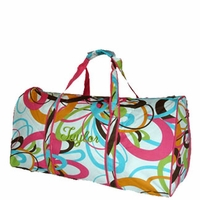 Personalized Duffle Bag for Women