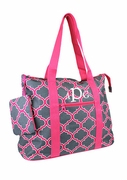 Personalized Geometric Carry All Tote | Monogrammed