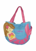 Personalized Girls Beach Bag