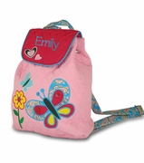 Personalized Girls Preschool Backpack | Embroidered